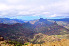 canaria granu góry Obraz Royalty Free