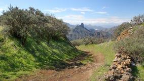 canaria granu góry Zdjęcia Royalty Free