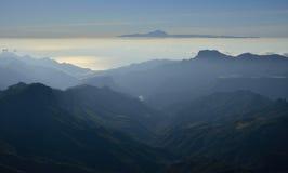 canaria granu góry Obrazy Royalty Free