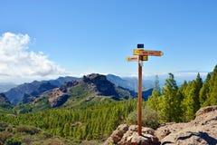 canaria granu krajobrazu zdjęcia stock