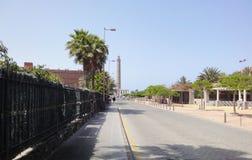 Canarian街道灯塔,西班牙 免版税图库摄影