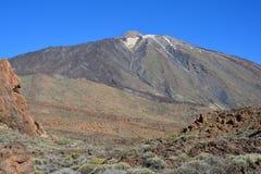 Canarian öar, vulkan, Arkivfoto