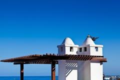 Canarian Architecture in Puerto de la Cruz Royalty Free Stock Image