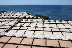 Canarian saline Stock Photo