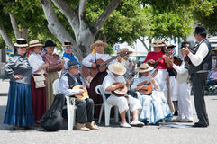 Canarian traditional music, Tenerife, Spain Stock Images