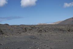 2011 Canarian wyspy Czerwiec Lanzarote park narodowy timanfaya obrazy royalty free