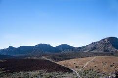 2011 Canarian wyspy Czerwiec Lanzarote park narodowy timanfaya Fotografia Stock