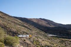 2011 Canarian wyspy Czerwiec Lanzarote park narodowy timanfaya Zdjęcia Stock
