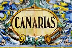 canarias加那利群岛西班牙 图库摄影