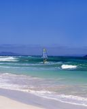 Canarias que practican surf Fotos de archivo libres de regalías