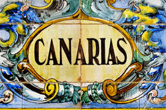 canarias wyspa kanaryjska Spain fotografia stock