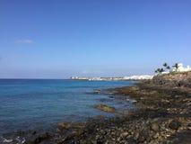 Canaris de vue de mer Image stock