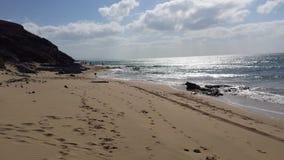 Canarisch strand Royalty-vrije Stock Afbeeldingen