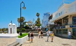canary cruz de islands Λα puerto Ισπανία tenerife Στοκ Φωτογραφία