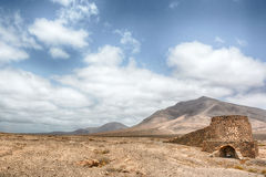 Canary Island desert sand - Lanzarote Hacha Grande Royalty Free Stock Photo