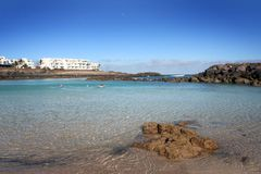 Canary Island Lanzarote Royalty Free Stock Photography