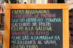 Canary Islands cuisine Stock Photography