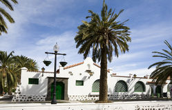 Canary Islands house Stock Image