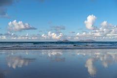 Canary Islands, Lanzarote, Graciosa island view royalty free stock image