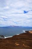 Canary Islands, small island Isla de Lobos Royalty Free Stock Photos