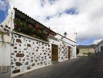 Canary Islands street Royalty Free Stock Photo