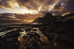Canary islands sunset Stock Photo