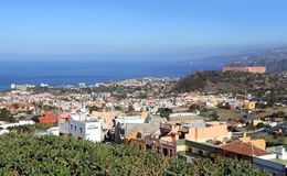 Canary Islands, Tenerife: City Center of Puerto de la Cruz Royalty Free Stock Image