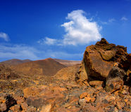 Canary islands in Tenerife Teide National Park Royalty Free Stock Images