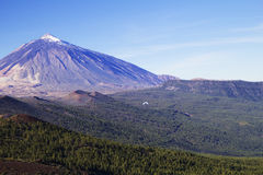 The Canary Islands . Teneriffan Teide Royalty Free Stock Photography