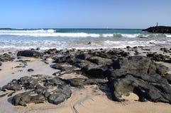Canary Islands tropical beach Stock Photo