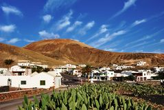 Canary Islands village Stock Photo