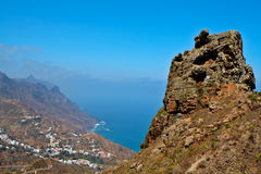 Canary Islands village Royalty Free Stock Images