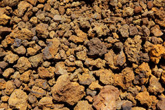 Canary islands volcanic stones texture Stock Image