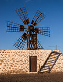 Canary Islands Windmill Stock Photos