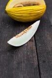 Canary melon Royalty Free Stock Photos