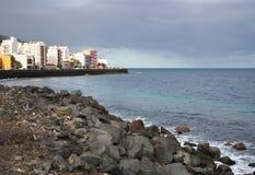 Canary shore stock photography