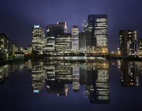Canary warf Stock Photography