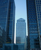 Canary Wharf. Modern buildings in Canary Wharf, London, UK Royalty Free Stock Images