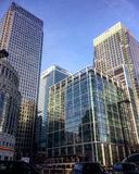 Canary Wharf Foto de Stock