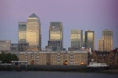 Canary Wharf. royalty free stock image
