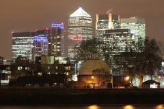 Canary Wharf Fotografie Stock Libere da Diritti