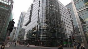 Canary Wharf stock footage