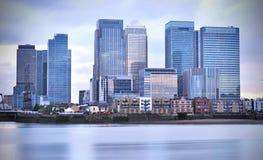 Canary Wharf Fotografia Stock