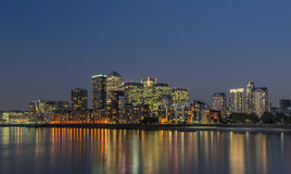 Canary Wharf arkivbilder