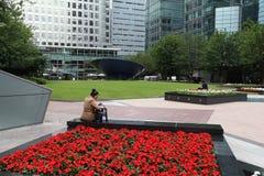 Canary Wharf Royalty-vrije Stock Foto's