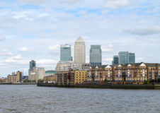 Canary Wharf Royalty Free Stock Photography