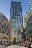 Canary Wharf business and banking area , London Stock Images