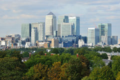 Free Canary Wharf Business District London UK Royalty Free Stock Photos - 34270958