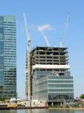 Canary Wharf - Construction Stock Photo
