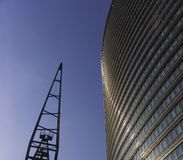 Canary wharf docklands Stock Photos